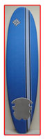 Custom X PLATINO Solid Strip Mesh Soft Surfboards